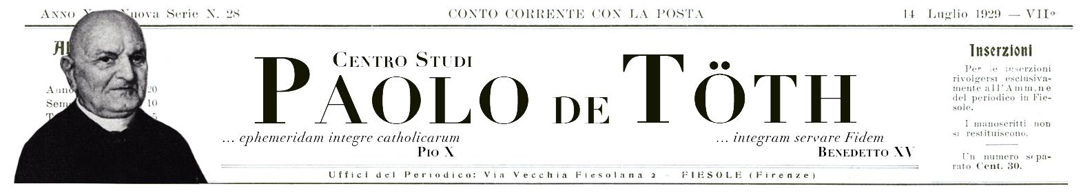 Centro Studi Paolo De Töth